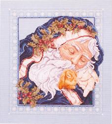 Cross Stitch Kit Sweet Dreams Santa - Janlynn