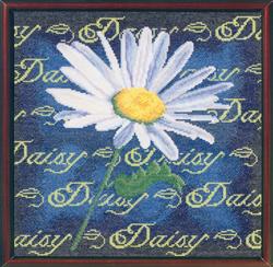 Cross Stitch Chart Daisy - Janlynn