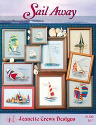 Cross Stitch Chart Sail Away - Jeanette Crews Designs