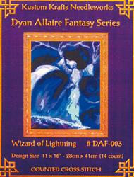 Borduurpatroon Wizard of Lightning - Kustom Krafts
