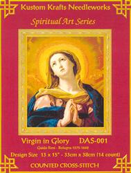 Borduurpatroon Virgin in Glory - Kustom Krafts