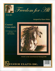 Cross Stitch Chart Freedom for All - Kustom Krafts