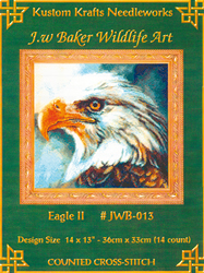 Cross Stitch Chart Eagle II - Kustom Krafts