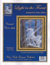 Cross Stitch Chart Light in the Forest - Kustom Krafts