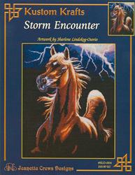 Cross Stitch Chart Storm Encounter - Kustom Krafts