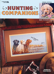 Cross Stitch Chart Hunting Companions - Leisure Arts