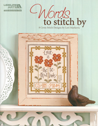 Cross Stitch Chart Words to Stitch By - Leisure Arts