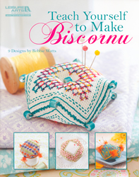 Cross Stitch Chart Teach Yourself to Make Biscornu - Leisure Arts