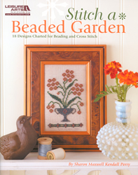 Cross Stitch Chart Stitch a Beaded Garden - Leisure Arts