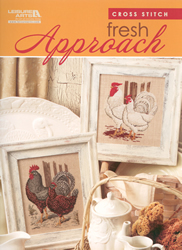 Cross Stitch Chart Fresh Approach - Leisure Arts