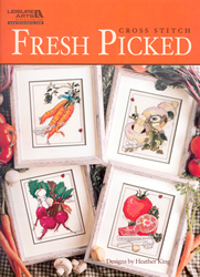 Cross Stitch Chart Fresh Picked - Leisure Arts