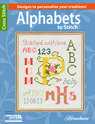 Cross Stitch Chart Alphabets to Stitch - Leisure Arts