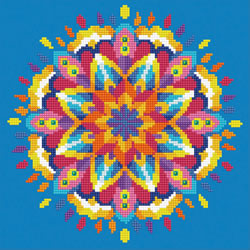 Diamond Art Blue Mandala - Leisure Arts