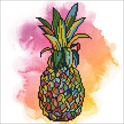 Diamond Art Pineapple - Leisure Arts