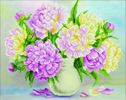 Diamond Art Flower Bouquet - Leisure Arts