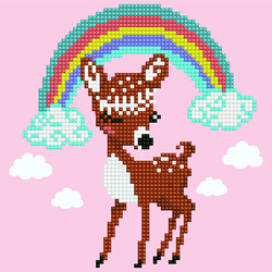 Diamond Art Deer - Leisure Arts