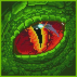 Diamond Art Dragon Eye - Leisure Arts