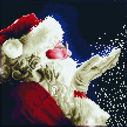 Diamond Art Santa - Leisure Arts