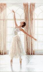 Cross stitch kit Ballerina - Leti Stitch