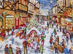 Cross stitch kit Christmas Eve - Leti Stitch