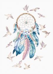 Cross stitch kit Make your Dreams Come True - Leti Stitch