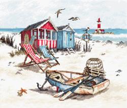 Borduurpakket Beach - Leti Stitch