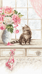 Borduurpakket Kitten - Leti Stitch