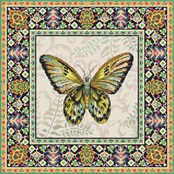 Borduurpakket Vintage Butterfly - Leti Stitch
