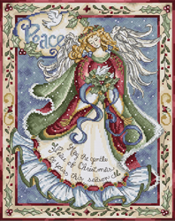 Cross stitch kit Peace - Leti Stitch