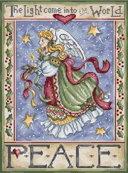 Cross stitch kit Peace Angel - Leti Stitch