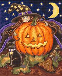 Borduurpakket Pumpkin Girl - Leti Stitch
