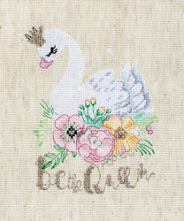 Cross stitch kit Be the Queen - Leti Stitch