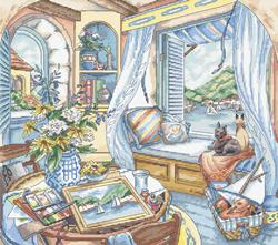 Borduurpakket Window Seat - Leti Stitch