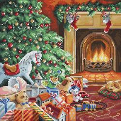 Cross stitch kit Cozy Christmas - Leti Stitch