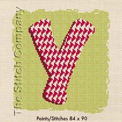Cross Stitch Chart Y - LiliPoints