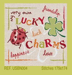 Borduurpatroon Lucky Charms - LiliPoints