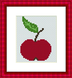 Cross Stitch Kit Apple - Luca-S