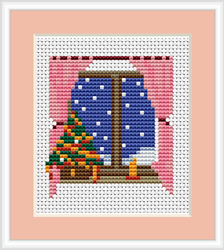 Cross Stitch Kit Christmas Evening - Luca-S