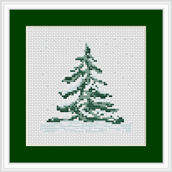Cross Stitch Kit Fir - Luca-S