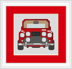 Cross Stitch Kit Car - Luca-S