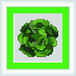 Cross Stitch Kit Vegetable - Luca-S