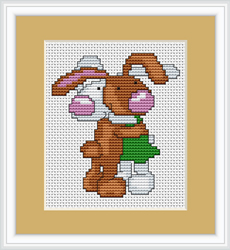 Cross Stitch Kit Bunnies - Luca-S