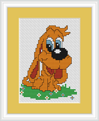 Cross Stitch Kit Dog - Luca-S
