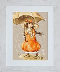 Borduurpakket Umbrella - Luca-S
