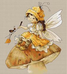 Cross Stitch Kit The Fairy - Luca-S