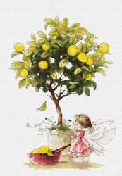 Cross Stitch Kit Lemons - Luca-S