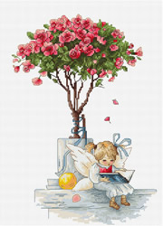 Cross Stitch Kit The Roses - Luca-S