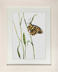 Cross Stitch Kit Butterfly - Luca-S