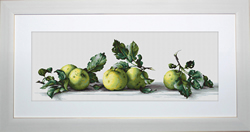 Cross Stitch Kit Still Life with Apples - Luca-S