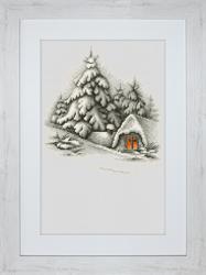 Borduurpakket Winter Landscape - Luca-S